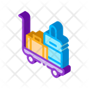 Accommodation Apartment Baggage Icon