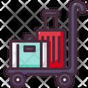 Baggage Cart Luggage Icon