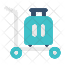 Baggage Trolley Icon