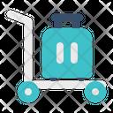 Trolley Bag Baggage Icon