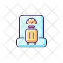 Baggage Weight Weighing Icon