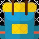 Bagpack Bag School Bag Icon