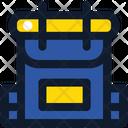Bagpack School Bag Backpack Icon