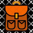 Bagpack Autumn Holiday Icon