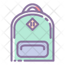 Bagpack Bag School Icon