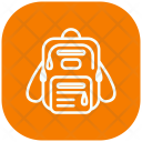 Bagpack Chool Bag School Bag Icon