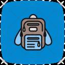 Bagpack Education Bag Bag Learning Icon