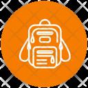 Bagpack Presentation Bag Bag Education Icon