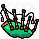 Bagpipe Music Instrument Wind Instrument Icon
