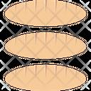 Baguette Bakery Food Breakfast Icon