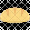 Baguette Bread Breakfast Icon