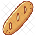 Baguette French Bread Bakery Icon