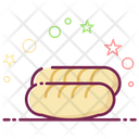 Baguette Bread Loaves Icon