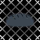 Bread Loaf Bun Icon