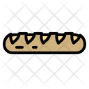 Baguette Breads Foods Icon