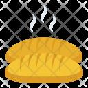 Baguette Loaf Bread Icon