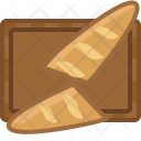 Baguette Chopping Board Icon