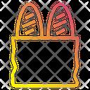 Baguettes Food Restaurante Icon