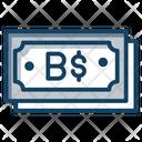 Bahamian Dollar Icon