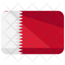 Bahrain Flag Country Icon