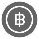 Baht Thai Currency Icon
