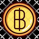 Baht Thai Financial Icon