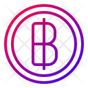 Baht Thai Business Icon