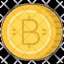 Baht Cash Coin Icon