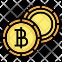 Baht Coin Baht Cash Icon