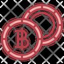 Baht Coin Icon