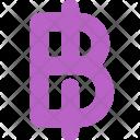 Baht Exchange Money Icon