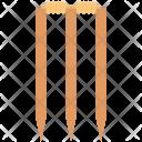 Bails Cricket Ball Icon