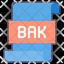 Bak File Icon