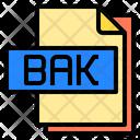 Bak File File Type Icon