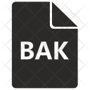 Bak File Format Icon