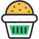 Baked Food Cupcake Icon