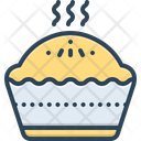 Baked Food Hot Icon