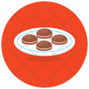Baked Cookies Chocolate Cookies Biscuits Icon