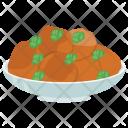 Baked Potato Microwave Icon