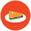 Baked Sandwich Icon