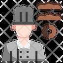 Baker Chef Kitchen Icon