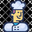Baker Men Cafe Chef Cook Icon