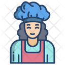 Baker Woman Icon