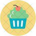 Bakery Food Cupcake Icon