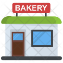Bakery Building Bake Icon
