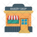 Shop Bakery Store Icon