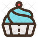Bakery Tasty Cake Icon