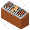 Bakery Cookies Stall Cookies Shop Icon