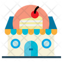 Baker Bakery Cake Icon