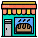 Bakery Store Shop Icon